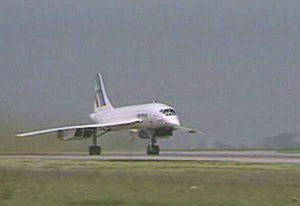 Marc Curtis flight on the Concorde image